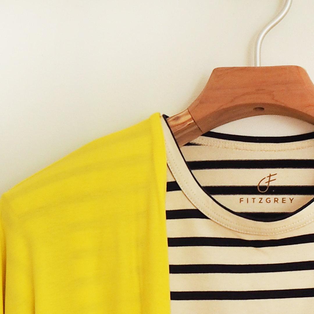 Elli takki keltainen